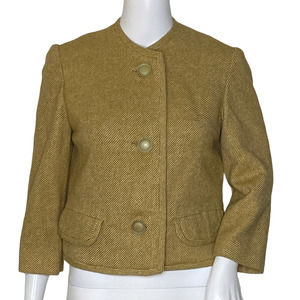 Vintage Renlyn Cropped Jacket Yellow (Gold)*